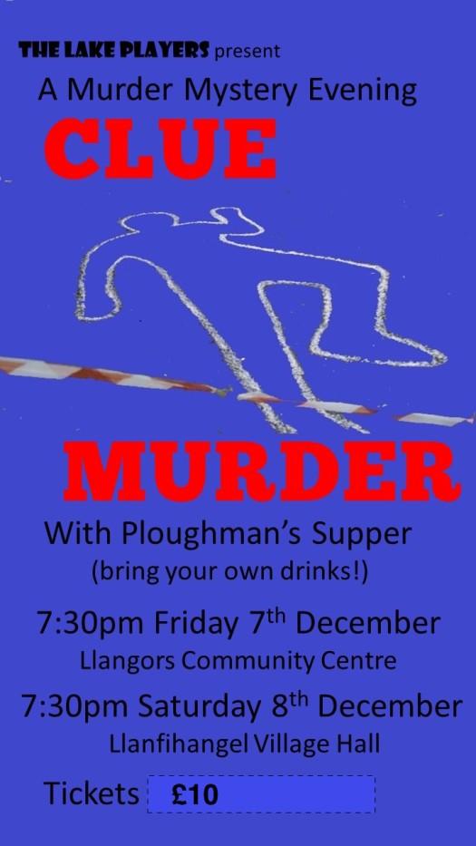 Clue Murder Poster