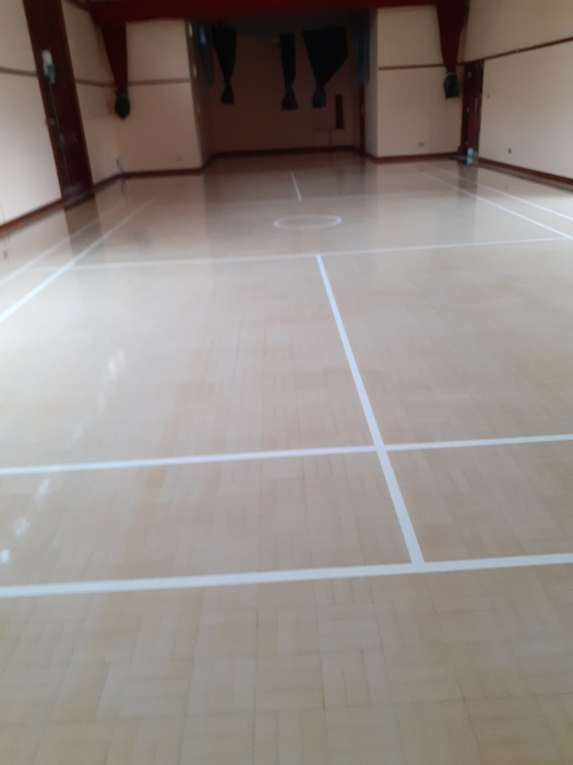 Image of new floor